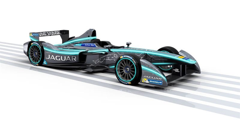 Jaguar Returns To Racing With Williams In The All-Electric Formula E Championship