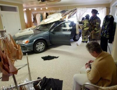 Senior citizen crashes Toyota, doesn't blame the car