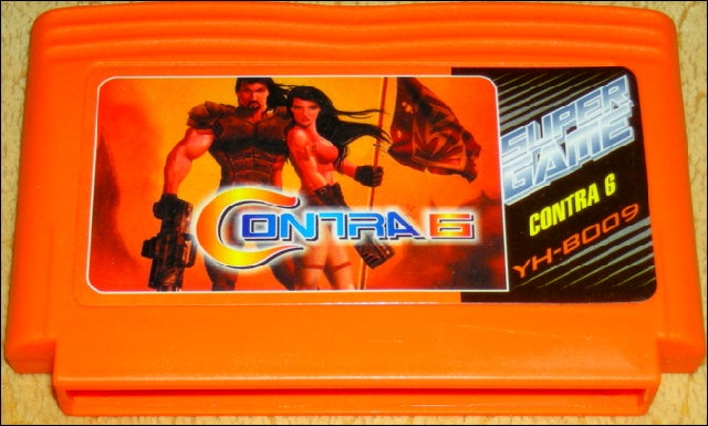 Street Fighter V? Contra 6? These Games Exist (In Russia).