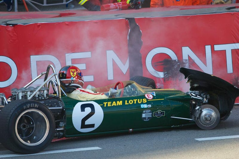 """""""That moment when you realize you just stuffed Jim Clack's Lotus 49"""""""