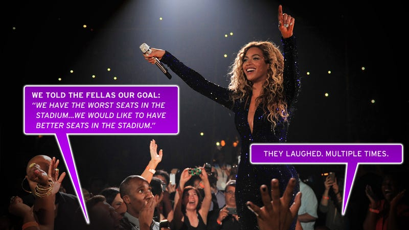 How to Sneak Into $1,000 Seats at a Beyoncé Concert: A Gawker Caper
