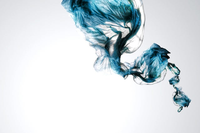 This Blue Smoke Isn't Actually Smoke; Just Clever Photography