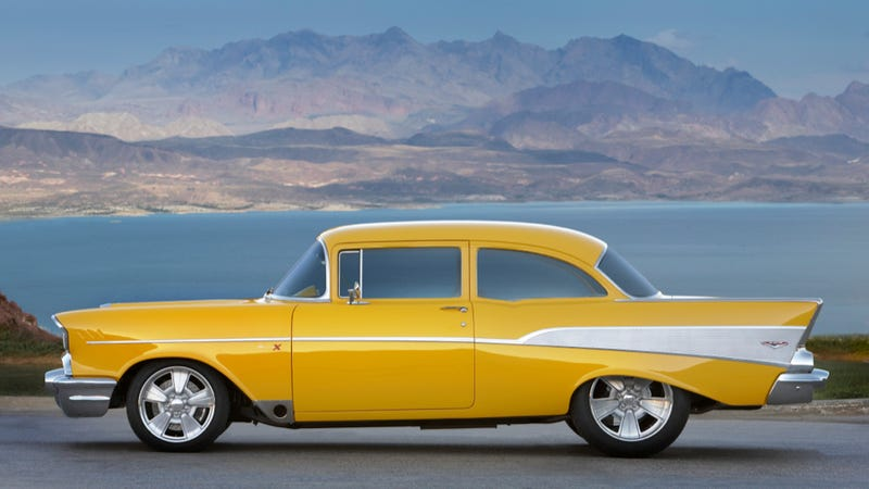 Your Ridiculously Awesome '57 Chevy Bel-Air Wallpaper Is Here