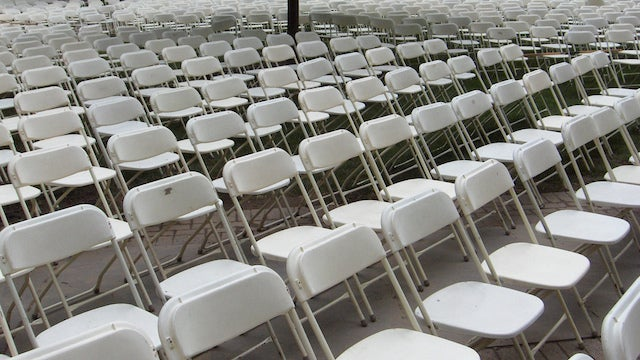 Keep Your Guests Mingling by Not Providing Enough Chairs