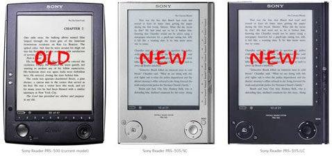 Sony Reader, New and Improved?