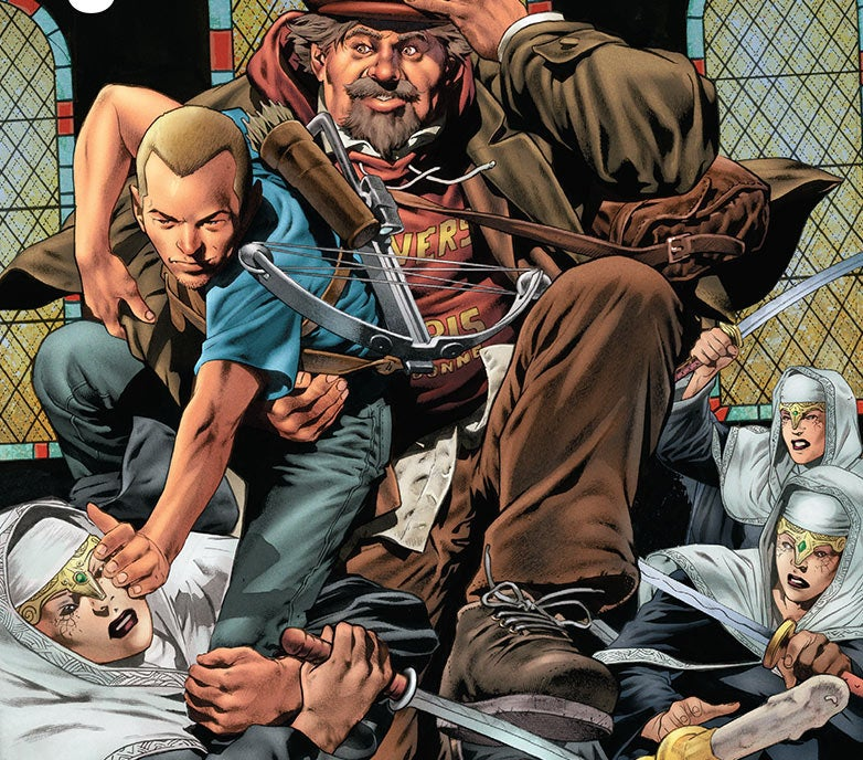 Archer & Armstrong Is The Best Damn Comic You're Not Reading