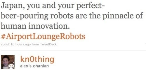 Interns and Robots Stoke the Twitterati