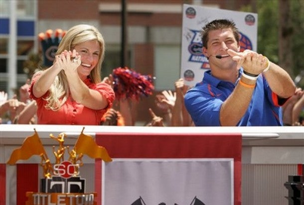 Erin Andrews Is an Objective Journalist When it Comes To Her Gator Love