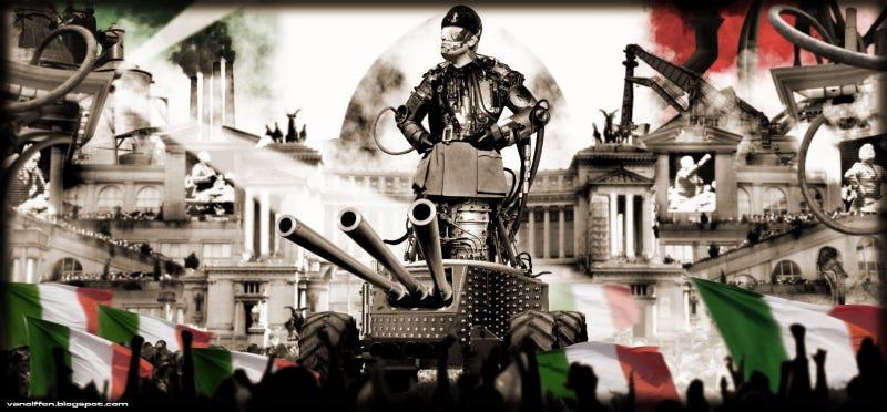 WWII Leaders Get a Dieselpunk Makeover