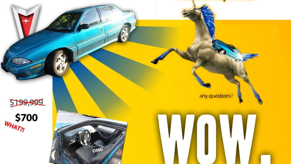 Goofy Craigslist Car Ad