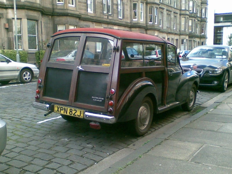 Seven Vintage Machines Down On The Edinburgh Street
