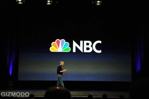Steve Jobs looks okay at iPod event