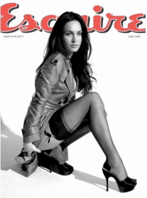 Megan Fox Esquire Cover Shot In Video, Not Stills