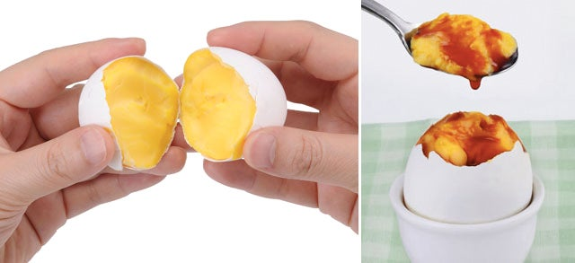 An Egg Spinning Contraption That Pre-Scrambles Them In the Shell