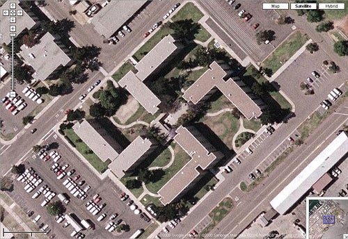 Google Earth Helps Spot Swastika-Shaped Building