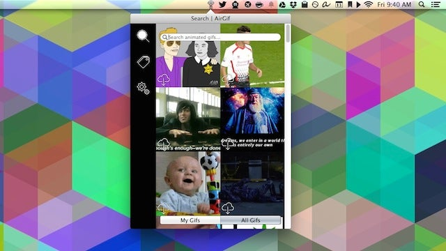 AirGif Manages Your GIF Collection, Shares It with Other Users