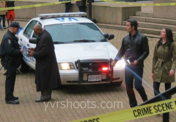 Continuum Set Photos Season 2