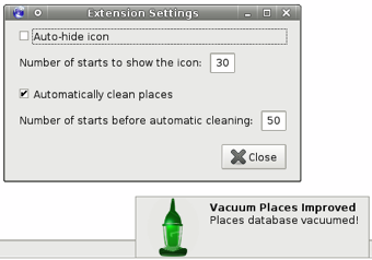 """""""Vacuum Places Improved"""" Speeds Up Firefox with a Click of Your Mouse"""