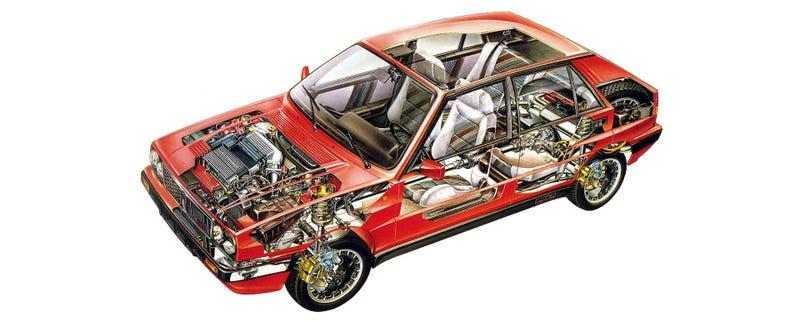 Lancia Delta Integrale: Jalopnik Fantasy Garage