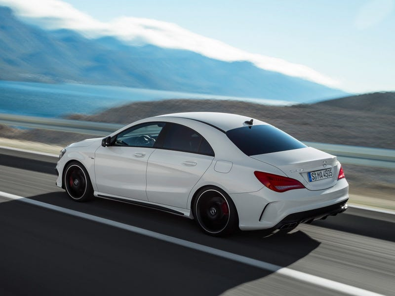 Saw my first CLA today.