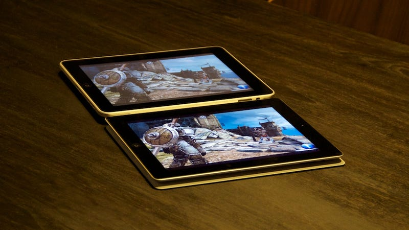 iPad 2 vs. iPad Viewing Angle