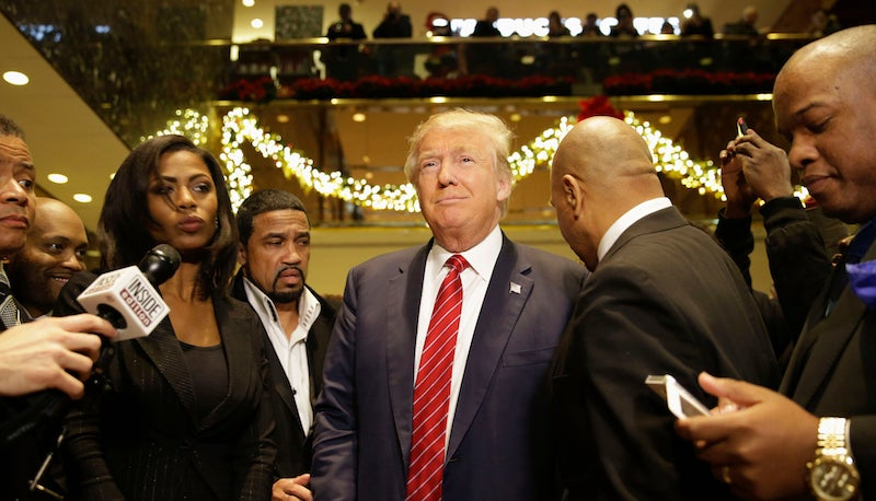 """Donald Trump Wanted to Pit """"Nine Blacks"""" Against """"Nine Whites"""" For the Ratings"""