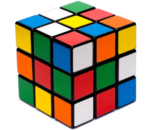 So you're buying someone a Rubik's Cube? Provide some instructions too!