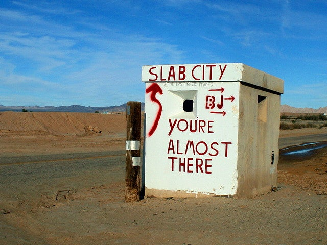 We All Live in Slab City