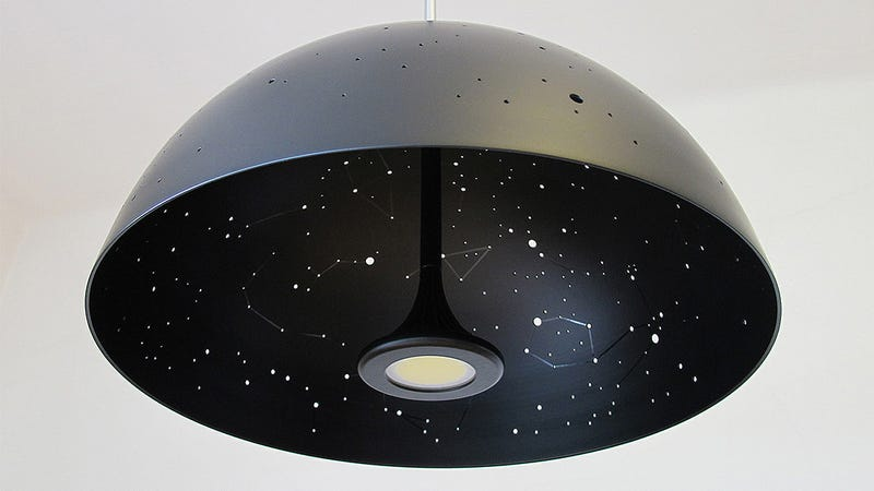 A Celestial Lamp Lets You Sleep Under the Stars Without Going Camping