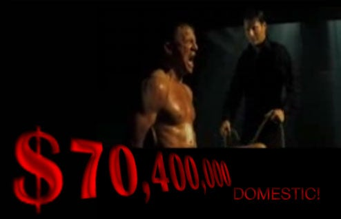 'Quantum Of Solace' Shows Box Office Balls