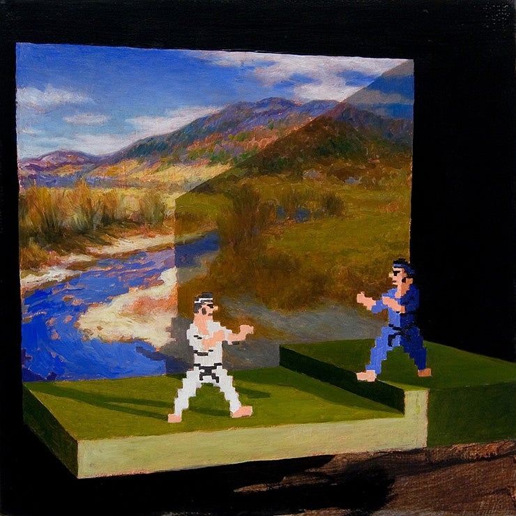 If Fine Art Was A Busted Video Game