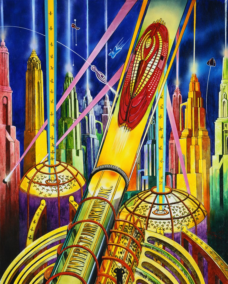 The Most Vibrant Pulp Science Fiction Art You'll See This Week