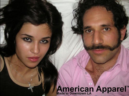 American Apparel Model Tries To Be Paris Hilton's New BFF