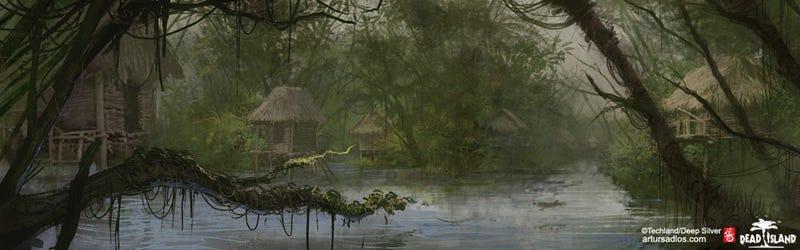 Dead Island's Concept Art Isn't Sexy, It's Scenic