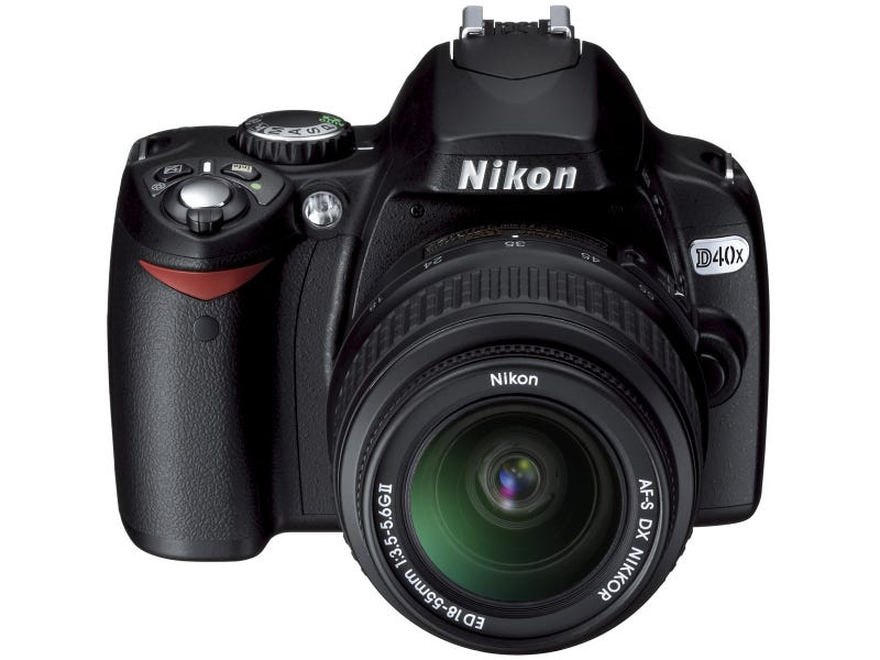 Nikon Spruces Up Its D40, Now the 10.2-Megapixel D40x
