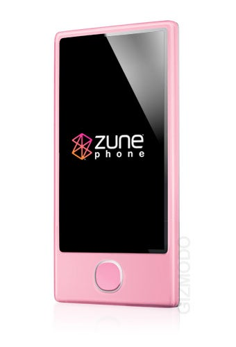 """Microsoft Chooses Zune's Ad Agency to Promote Zune Phone """"Pink"""""""