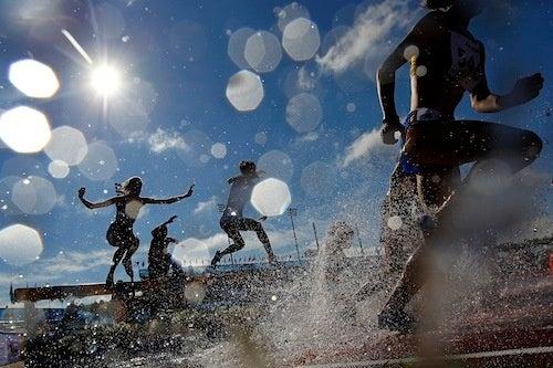 Water Jump Makes Steeplechase Look Surprisingly Fun