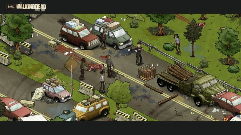 Of course it is: Walking Dead social game coming to Facebook