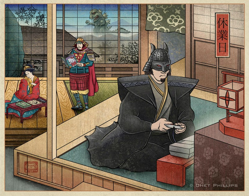 Meet the Justice League of Edo Japan