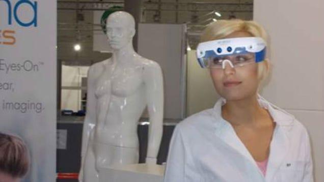Estas gafas inteligentes pueden ver tus arterias en tiempo real