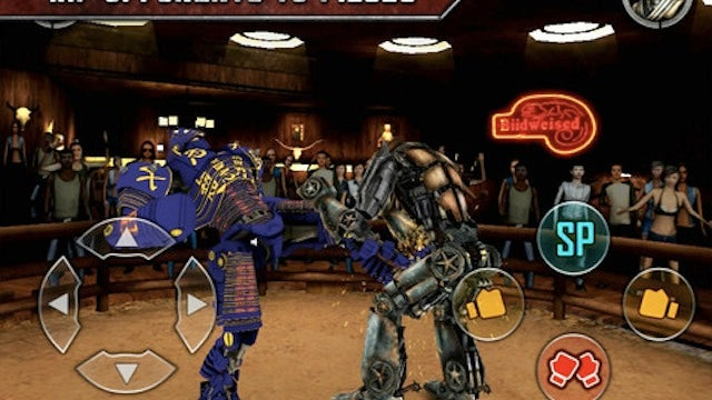 Real Steel Is an iPad Game Based on That Crazy Robot Fighting Movie