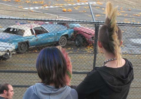 Drive Your Camaro Over Some Pumpkins At Altamont!