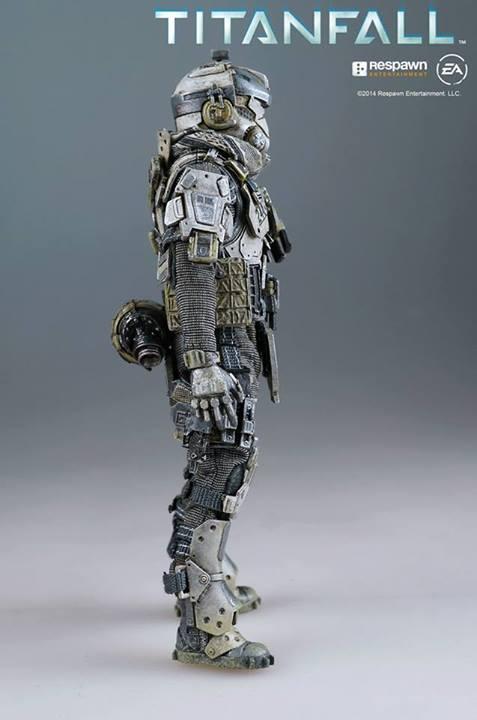 Super-Articulated Titanfall Pilot Action Figure