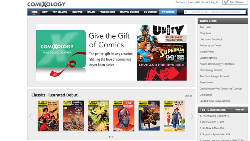 The Biggest Digital Comics Platform Finally Offers eGift Cards