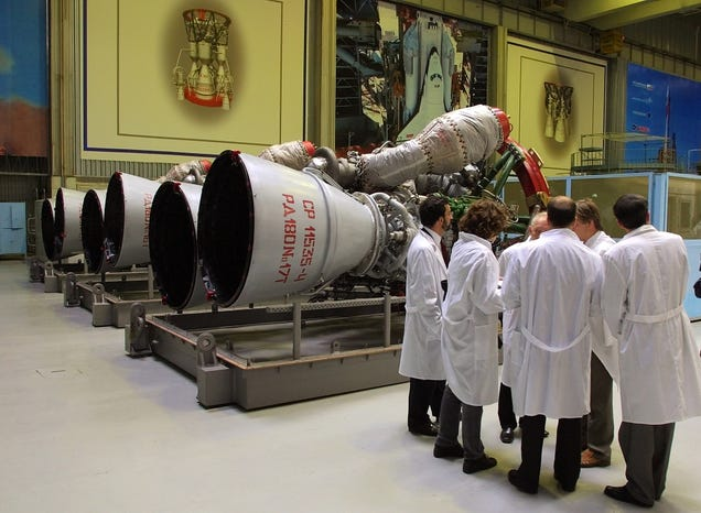 A Senate Panel Just Set Aside $100 Million To Build a Putin-Free Rocket