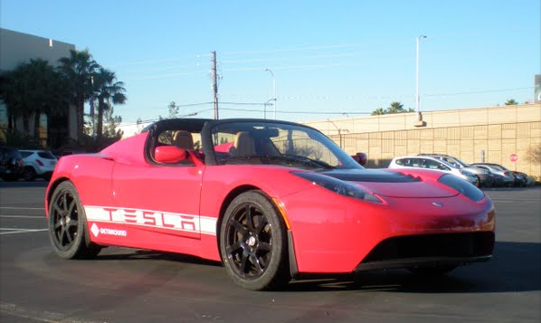 You Can Rent a Tesla Roadster for Relatively Cheap