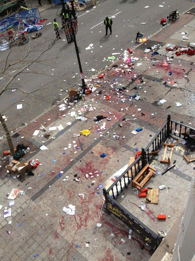 Explosions At The Boston Marathon; 3 Dead, Scores Injured