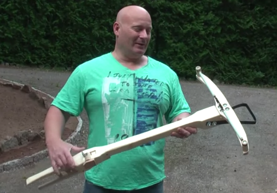 Watch the Insane Slingshot God Get Medieval