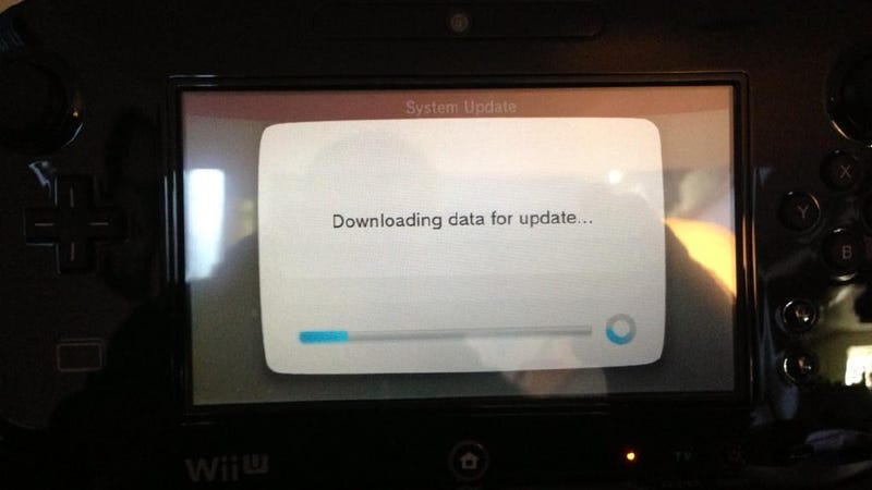 Wii U Owners Bummed Out By Huge Firmware Update