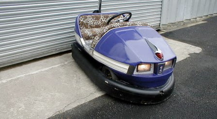 Pimp My Carnival Ride: Gas-Powered Bumper Car!